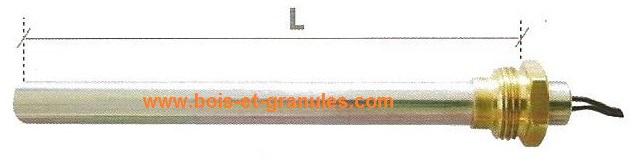 bougie d 39 allumage 270 w l 130 mm diam 9 9 mm fils 500 mm pi ce ecoteck ravelli. Black Bedroom Furniture Sets. Home Design Ideas