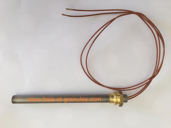 Bougies d'allumage Bougie d'allumage 250 W  L= 156 mm diam. 9,5 mm fils 500 mm