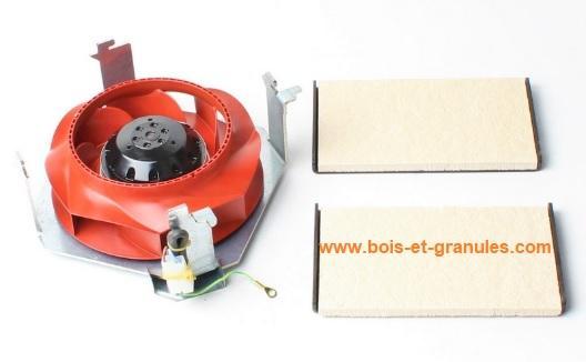 Ventilateurs Ventilateur  d'ambiance pour poêles Nuance 6 et 9 Kw