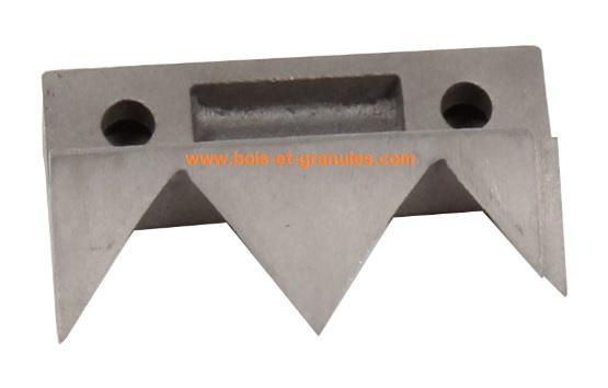 Accessoires Couteau de réservoir pour poêles Nuance 6 et 9 Kw