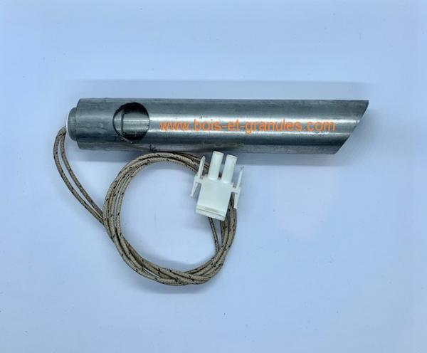 Pièces détachées Cola > Bougie d'allumage 350 W D16 mm fourreau lg max 130 mm pour poele vision HR