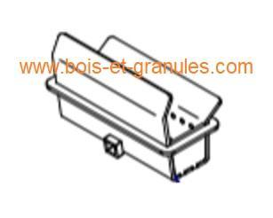 Pièces détachées Piazzetta > Brasier fonte pour IP 68/49, IP 78/58 et SCP 7 à partir version 2015