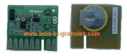 Cartes électronique Carte chronothermostat avec pile