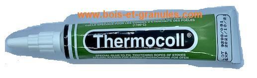 Pièces détachées Atlantic > Colle refractaire 1100 ° tube de 17 ml pour joints tresse plat ou rond