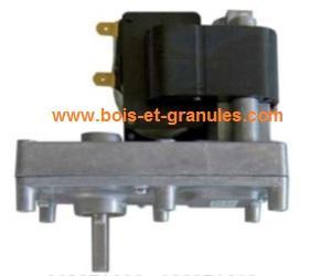 Motoréducteurs Moto-reducteur pour poêles Mellor  2 rpm axe diam 8,5 mm lg axe 27 mm sens horaire