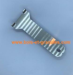 Accessoires Poignée de porte  acier amovible pour poêles Superior